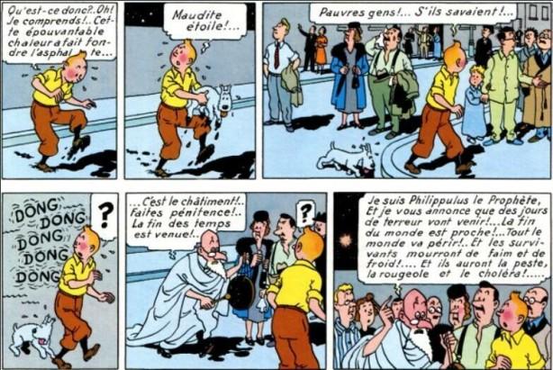 Tintin et l'Étoile mystérieuse